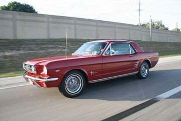 1966 Mustang 289 Coupe