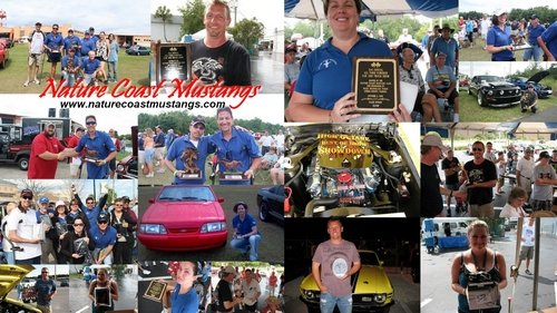Nature Coast Mustangs Awards and Trophies Collage