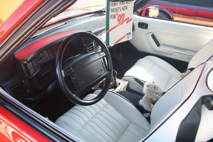 1992 Limited Edition Feature Fox Interior